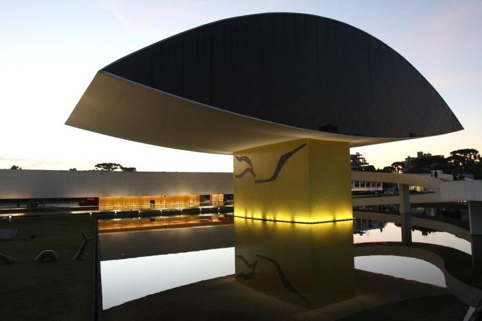 Museu Oscar Niemayer. Foto: Divulgação MON