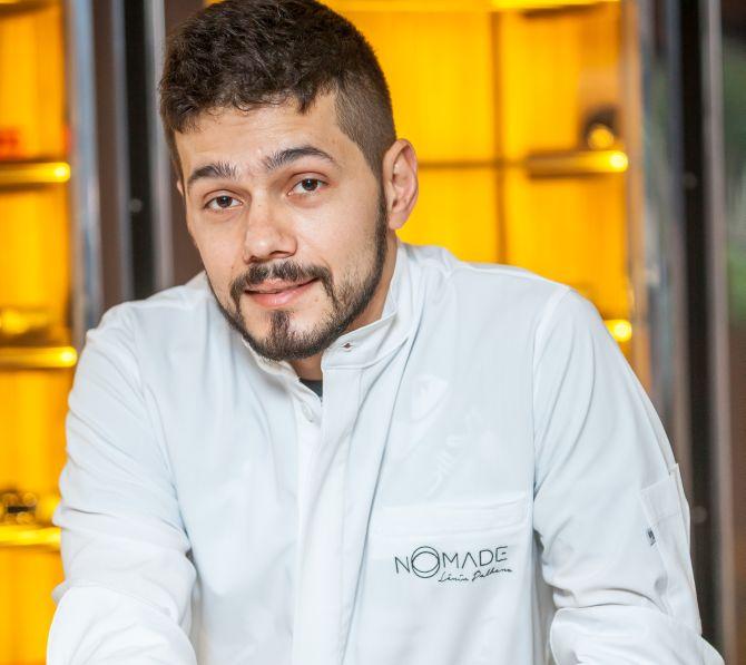 Fotos do Restaurante Nomade, pratos e do Chef Lênin para a Revista Bom Gourmet.