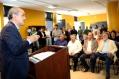 O prefeito Gustavo Fruet disse na ocasião que a proposta foi construída com ampla participação da população (Foto: Chico Camargo/CMC)